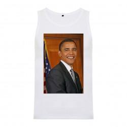 Débardeur Barack Obama - homme blanc