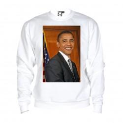Sweat Barack Obama - adulte blanc