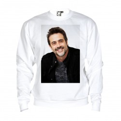 Sweat Jeffrey Dean Morgan - adulte blanc