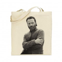 Tote bag Andrew Lincoln