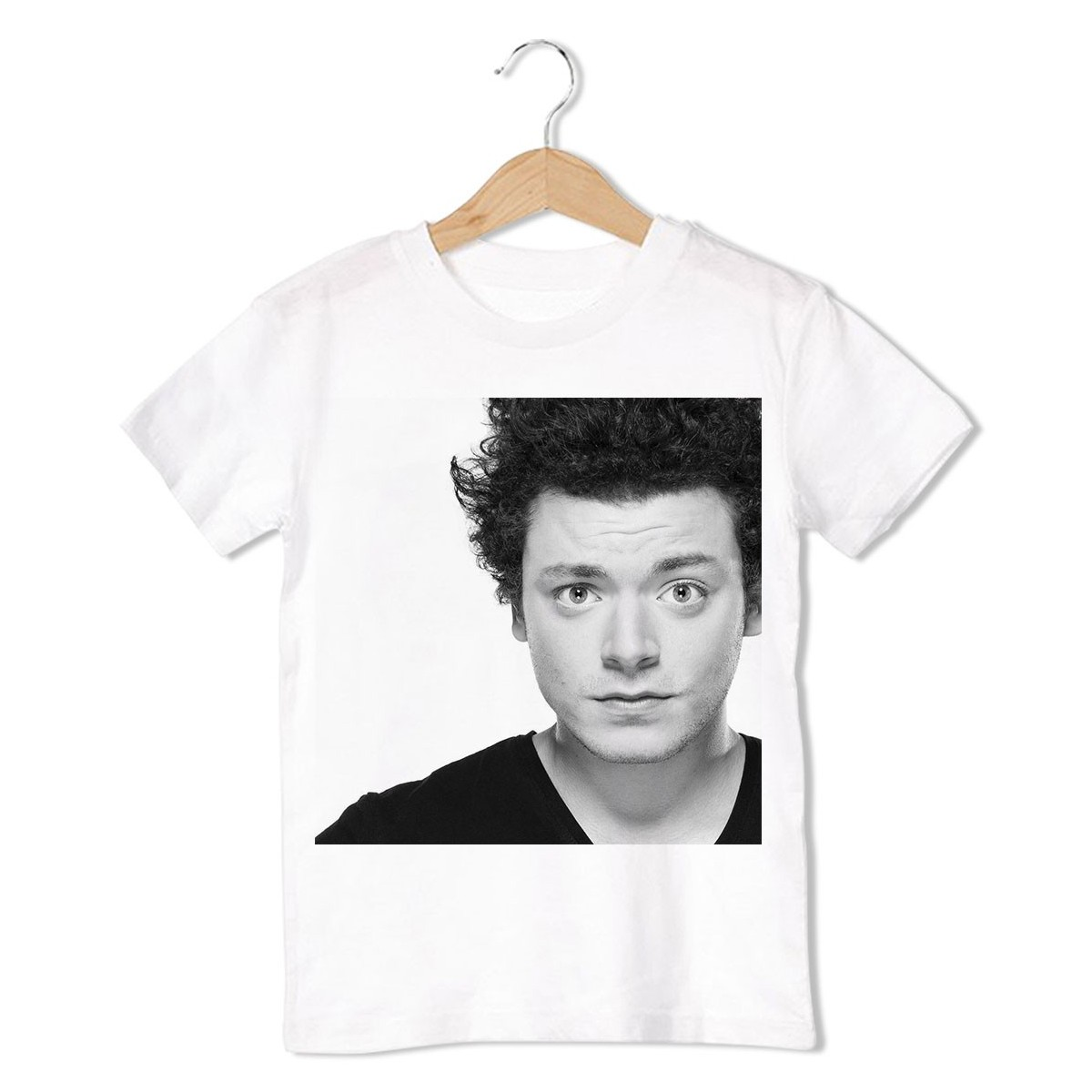 T-Shirt Kev Adams - enfant blanc