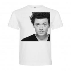 T-Shirt Kev Adams - col rond homme blanc