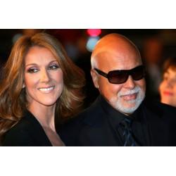 Photo Céline Dion et René Angélil