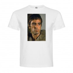 T-Shirt Al Pacino - col rond homme blanc