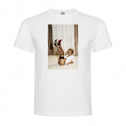 T-Shirt Adele Silva - col rond homme blanc