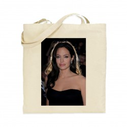 Tote bag Angelina Jolie