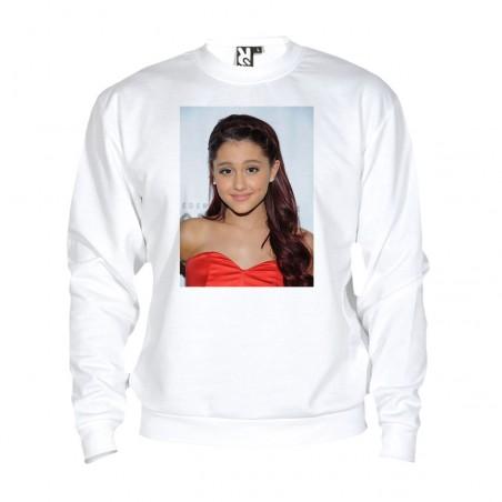 Sweat Ariana Grande - adulte blanc