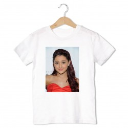 T-Shirt Ariana Grande - enfant blanc