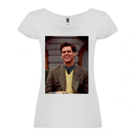 T-Shirt The Truman Show - col rond femme blanc