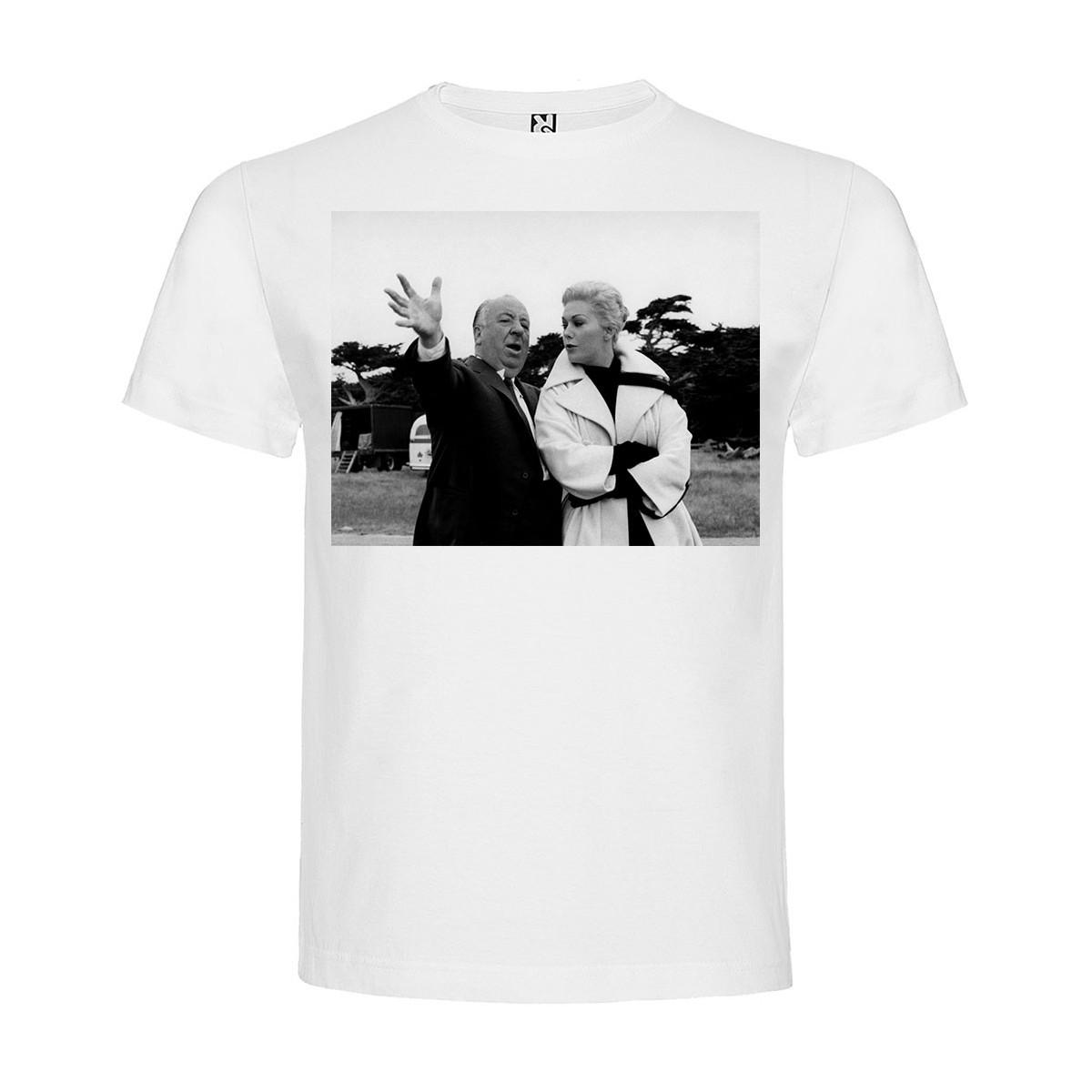 T-Shirt Sueurs froides - Vertigo - col rond homme blanc