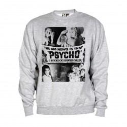 Sweat Psychose - adulte gris