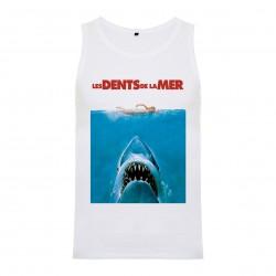 Débardeur Jaws / Les dents de la mer - homme blanc