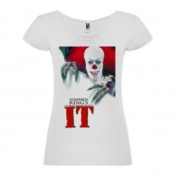 T-Shirt Ça, le film - col rond femme blanc