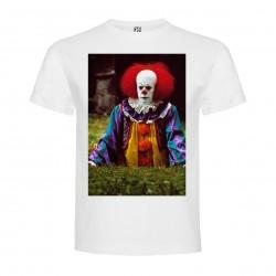 T-Shirt Ça, le film - col rond homme blanc