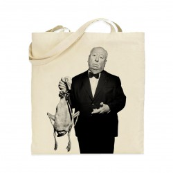 Tote bag Alfred Hitchcock