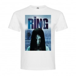T-Shirt Le cercle / The ring - col rond homme blanc