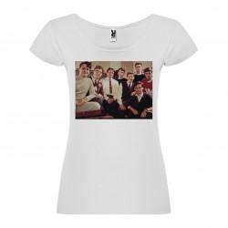 T-Shirt Le cercle des poètes disparus - col rond femme blanc