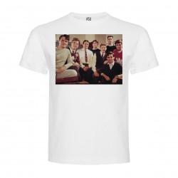 T-Shirt Le cercle des poètes disparus - col rond homme blanc