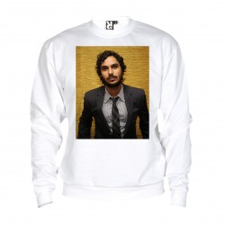 Sweat Kunal Nayyar - adulte blanc