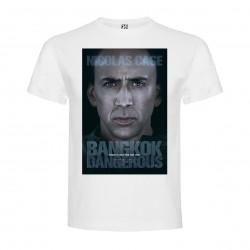 T-Shirt Bangkok Dangerous - col rond homme blanc