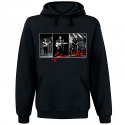 Sweat Capuche Johnny Hallyday triptyque