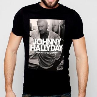 homme blanc //FD0301// T-Shirt France Gall chanteuse